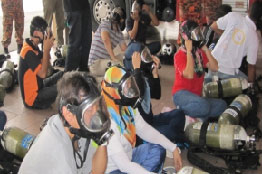 Breathing Apparatus Training   (1 day)
