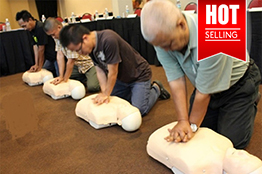 Basic Occupational First Aid, CPR & AED Training (2 days)