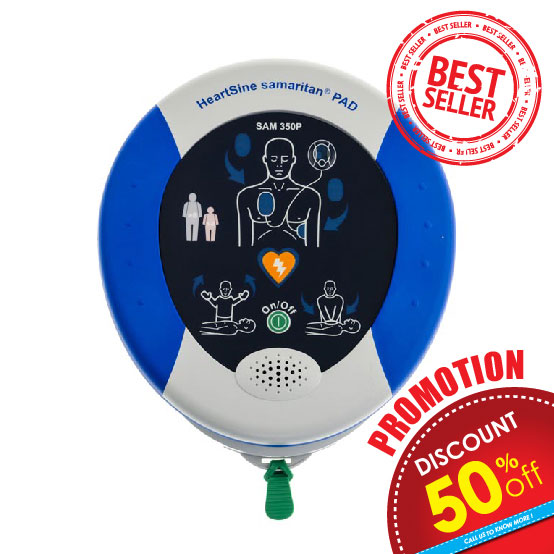 AED HeartSine 350P, Promotion 50% discount, Buy Sell Malaysia