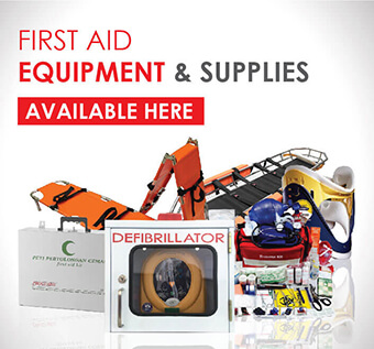 We also supply First Aid Equipment & Supplies