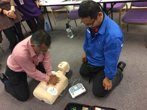 First aid training helps employees learn to be more conscious of safety in the workplace, leading to a reduced number of accidents and injuries. Employees will be aware of the hazard & risk that might cause accident & able to take precaution measure in their work station. The first aid knowledge also help them to maintain the first aid facilities, first aid room, first aid kit in their workplace.