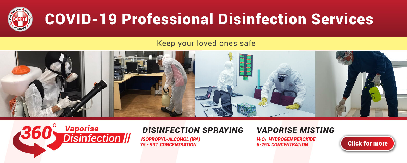 Vaporise 360 Disinfection Sanitising Clean for corporates